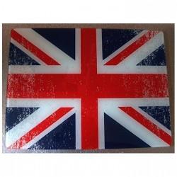 Planche surface de travail en verre UK Rétro