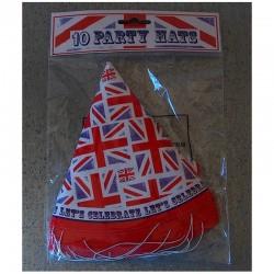 10 chapeaux carton Party UK